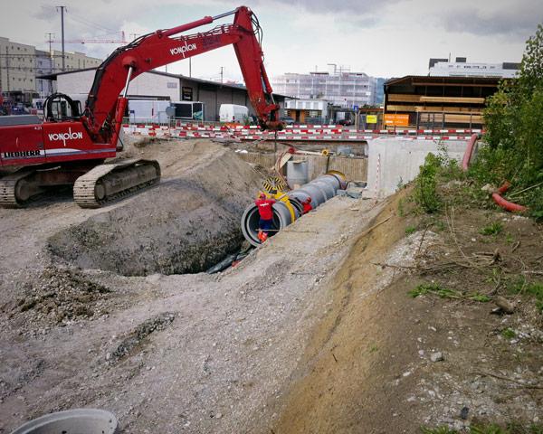 Vonplon Kanalbau und Werkleitungsbau