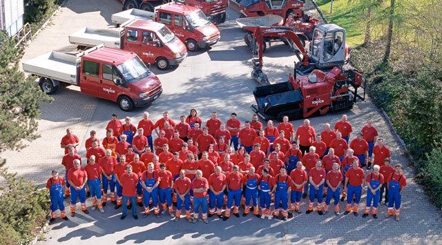 Mitarbeitende Vonplon Strassenbau AG