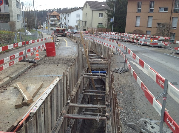 Leimbachstrasse Zürich Vonplon Strassenbau AG